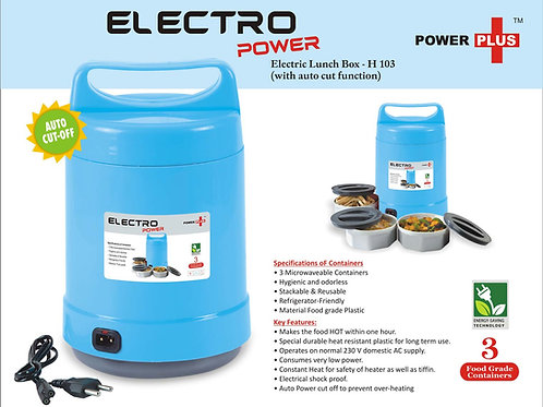 Electro Power: Electric Lunch box with Auto-cut function H-103