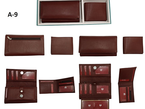 2 IN 1 SET-Goat Leather A-09