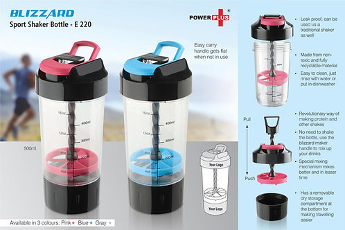 Blizzard Shaker with mixer handle (with supplement basket) E-220