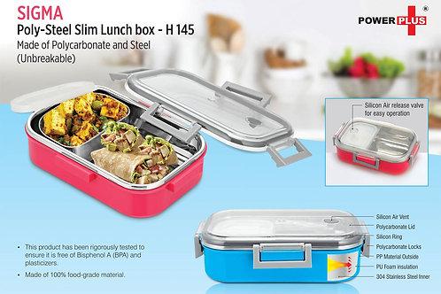 Sigma Poly-Steel Slim Lunch box H-145