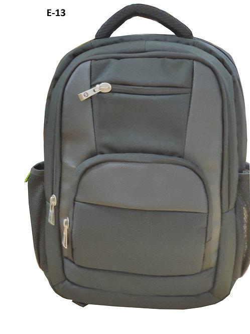 Back Pack Black Matty E-13
