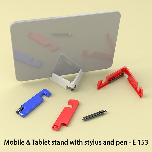 Mobile & Tablet stand with stylus and pen E-153