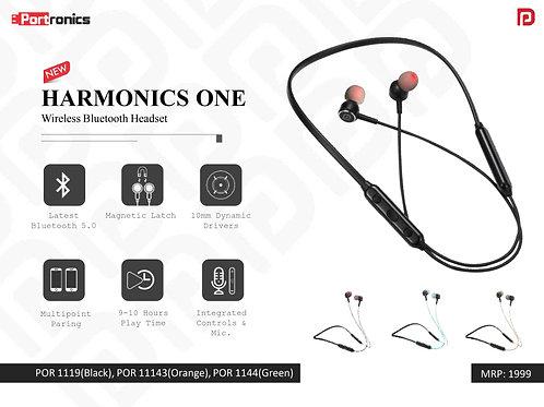 HARMONICS ONE Wireless Bluetooth Headset POR-1119