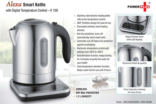 Alexa: Smart SS Kettle with digital temperature control H-159