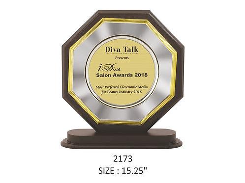 Wooden Trophy WD-2173