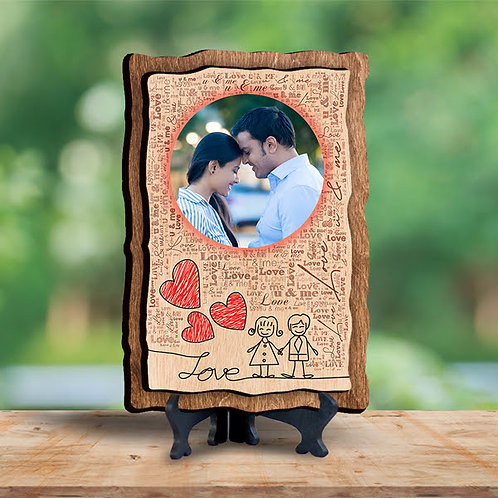 Personalized Wooden photo Frame CI-01