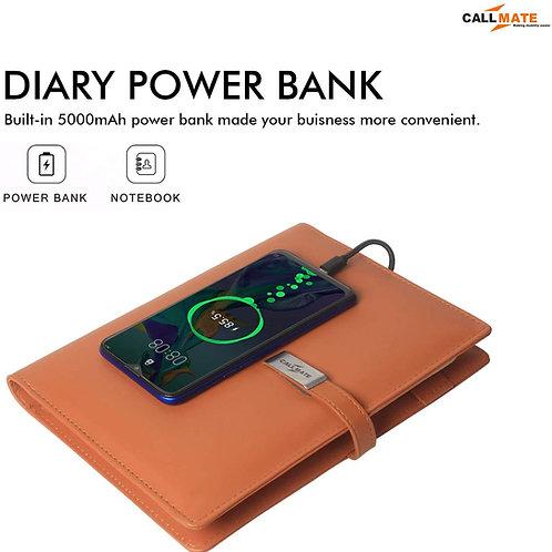 Call Mate PU Leather 5000 mAh Power bank CI-CM-15
