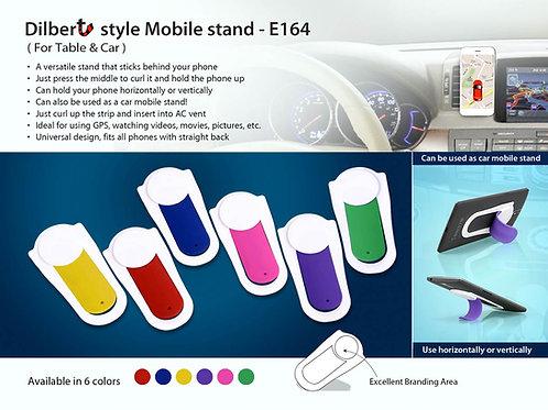 Dilbert style Mobile holder | For Table & Car Vent E-164