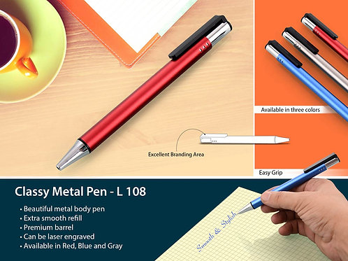 Classy Metal Pen L-108