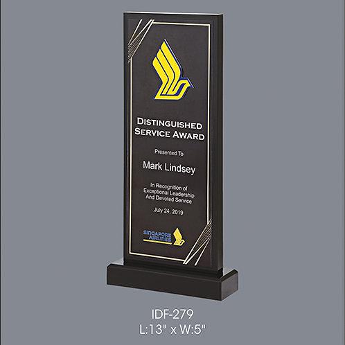 Acrylic Trophy  IDF-279