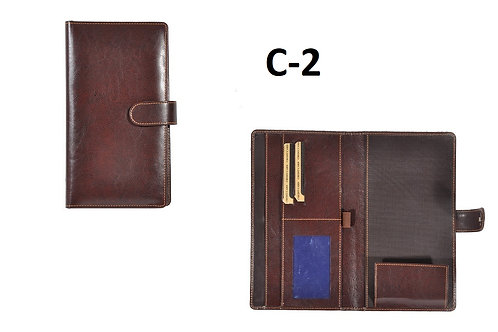 Brown-Zipper-Leathertte C-02