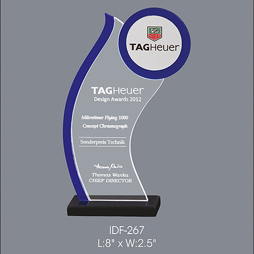 Acrylic Trophy  IDF-267