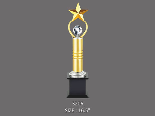 Metal Trophy MT-3206