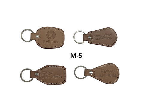 Leather Key Ring GROUP OF 4 @6.50 M-05