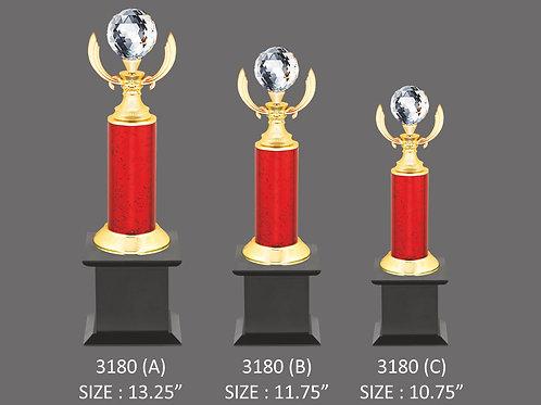Metal Trophy MT-3180