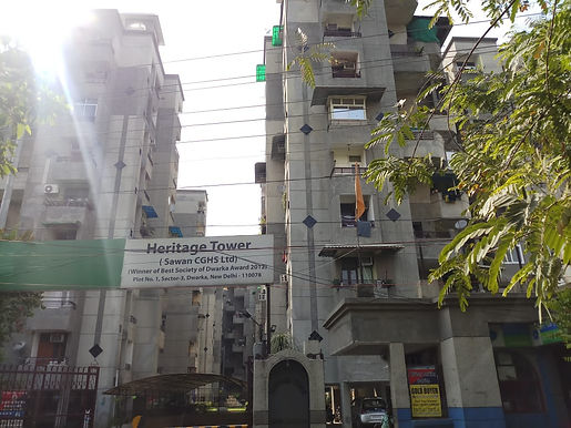 Heritage tower sector 3 dwarka