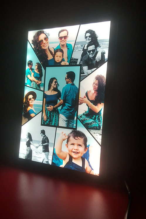Personalised Small HD LED Stand Photo Frame CI- 91