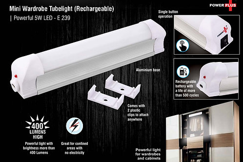 Mini wardrobe tubelight (Rechargeable) | Powerful 5W LED E-239