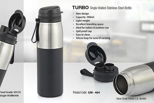 TURBO - SINGLE WALL S.S BOTTLE ( 900 ML) GM-404