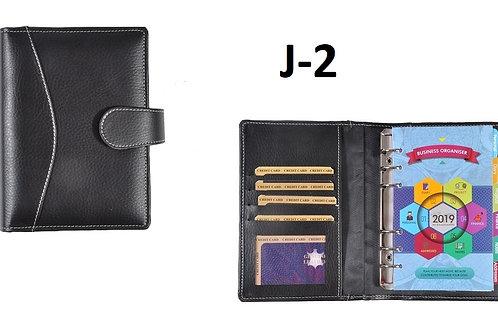 Black-Vegan Leather J-02