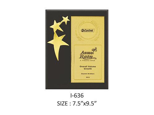 Wooden Trophy I-635