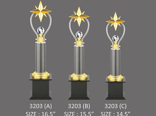Metal Trophy MT-3203