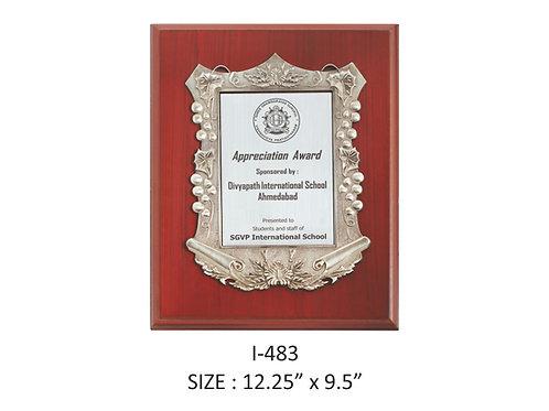 Wooden Trophy I-483