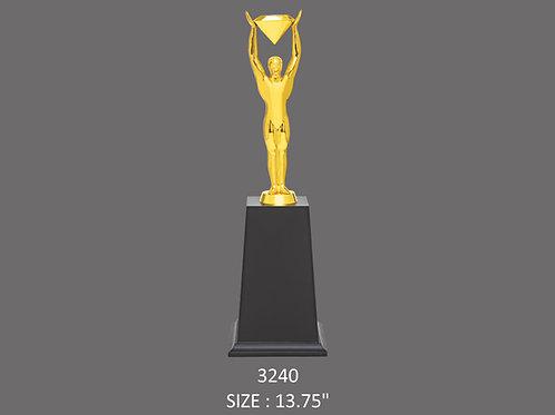 Metal Trophy MT-3240