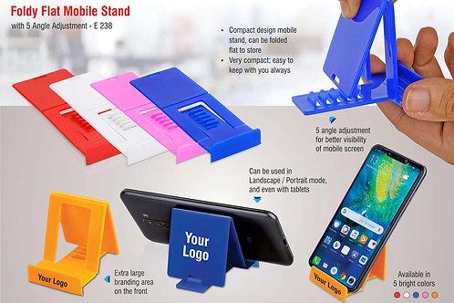 FoldyFlat mobile stand with 5 angle adjustment E-238