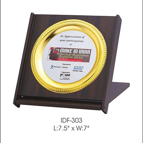 Wooden Trophy IDF -303