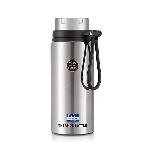 KENT - 16049 Stainless Steel Thermos Bottle, 700 ml, Silver CI-K-26