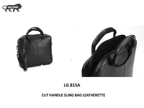 BAGS Cut Handle Sling Bag Leatherette CI-LG-815A