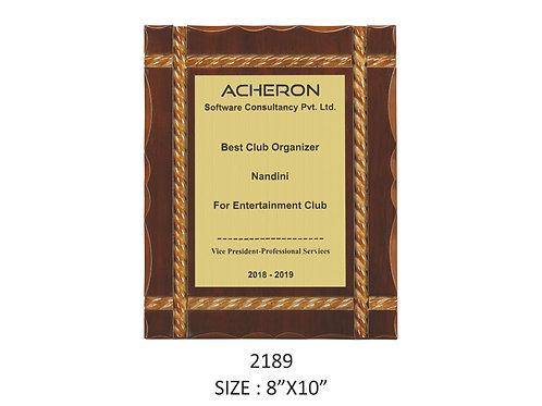 Wooden Trophy WD-2189