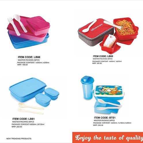 Easy  carry Lunch Box  small CI-JMD-64
