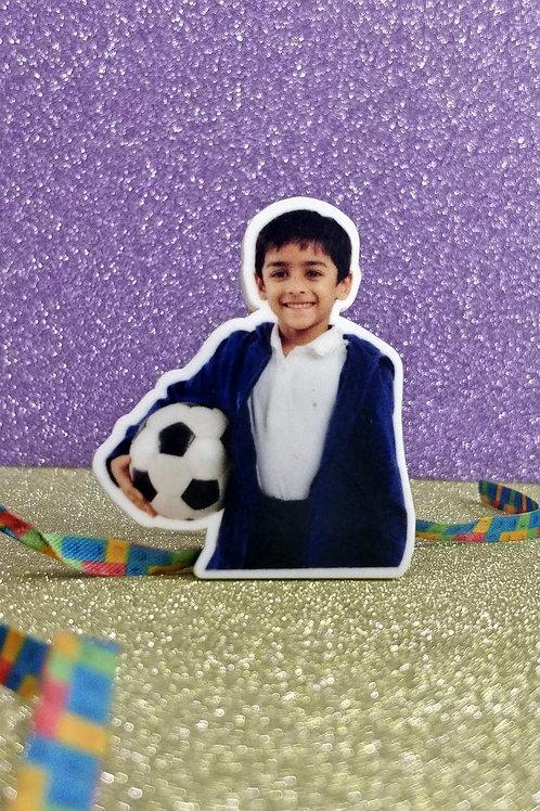 Personalised Photo Cut Out Rakhi Magnet CI-43
