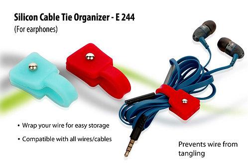 Cable tie organizer (silicon) E-244