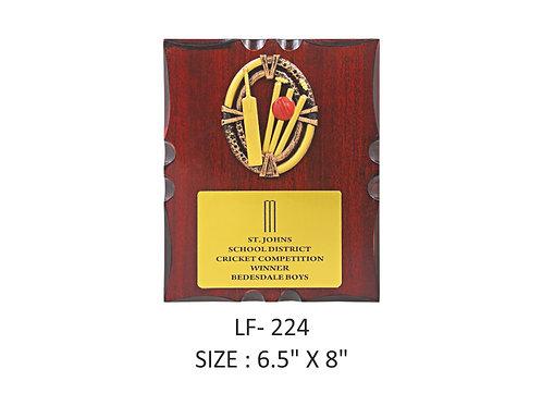Wooden Trophy WD-LF224