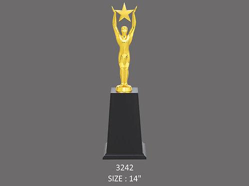 Metal Trophy MT-3242