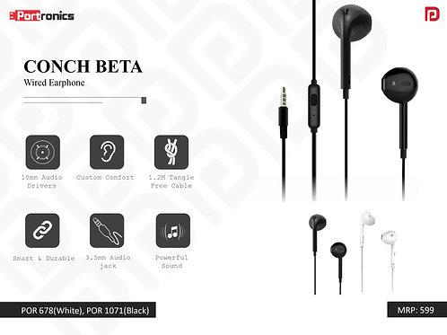CONCH BETA Wired Earphone POR-1071