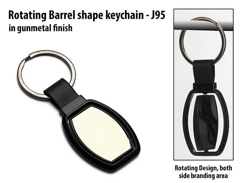 Rotating Barrel shape keychain J-95