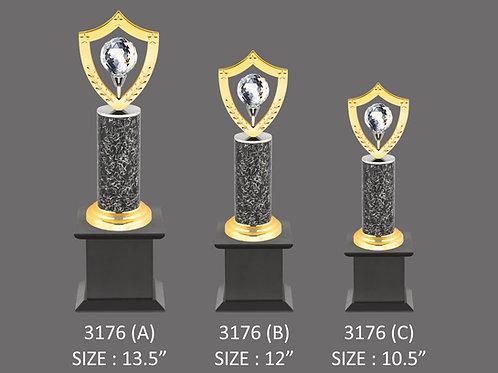Metal Trophy MT-3176