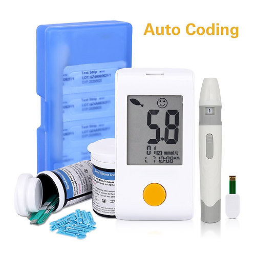 Blood Glucose Monitoring System GOD Meter Only - GLM-73