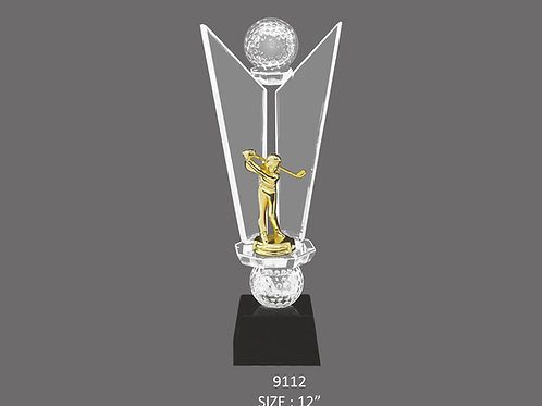 CRYSTAL TROPHY CT-9112