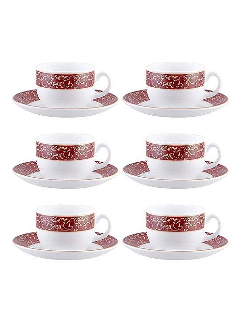 Laopala Sovarana Anassa Red Cup Saucer CI-LO-22