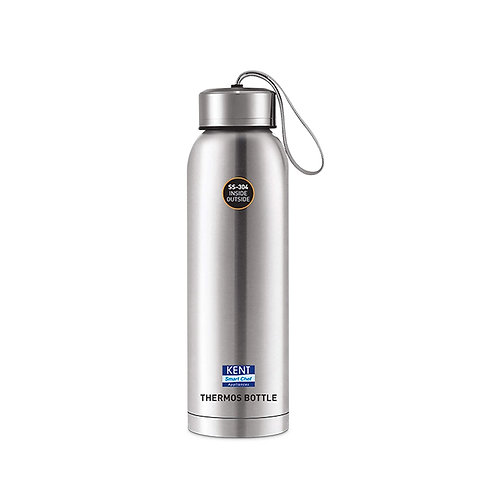 Kent Stainless Steel Thermos Bottle, 500 ml, Silver CI-K-25