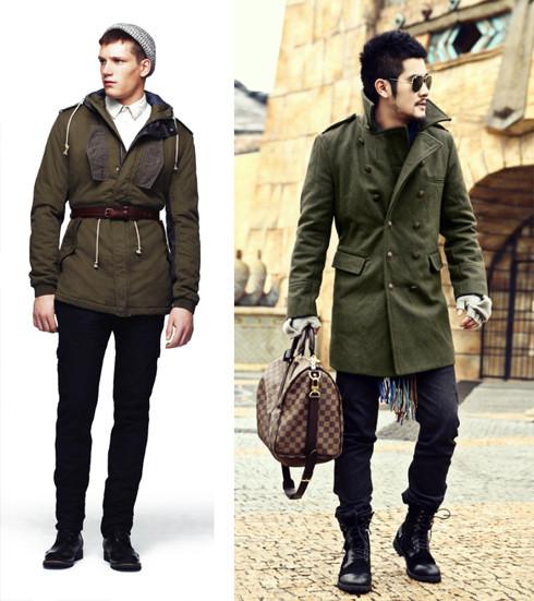 стиль милитари мужская одежда
