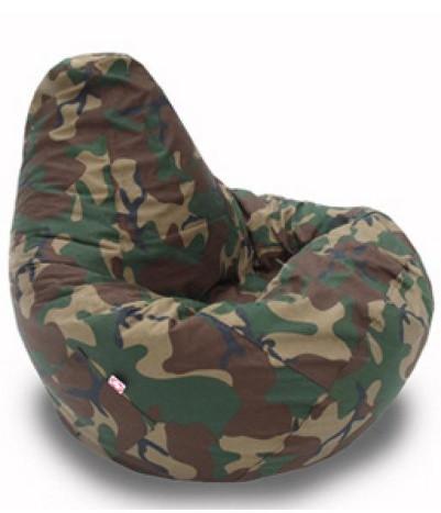 стиль милитари кресло