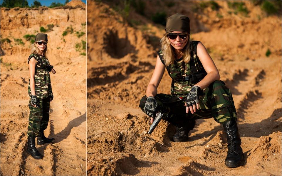 стиль милитари одежда