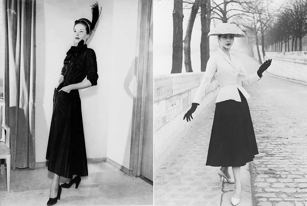 Мода от Кристиана Диора, 1947 год