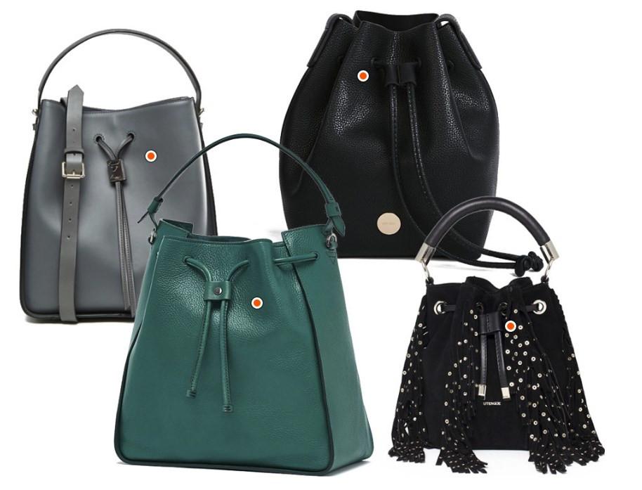 Модные сумки 2017 года/Боулеры